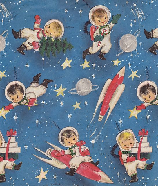 Merging the atomic age and Christmas - Hallmark knows how to spot a trend!