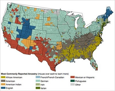 Ethnic Map Of Usa Atjanice Ice This Isn T The One I Was