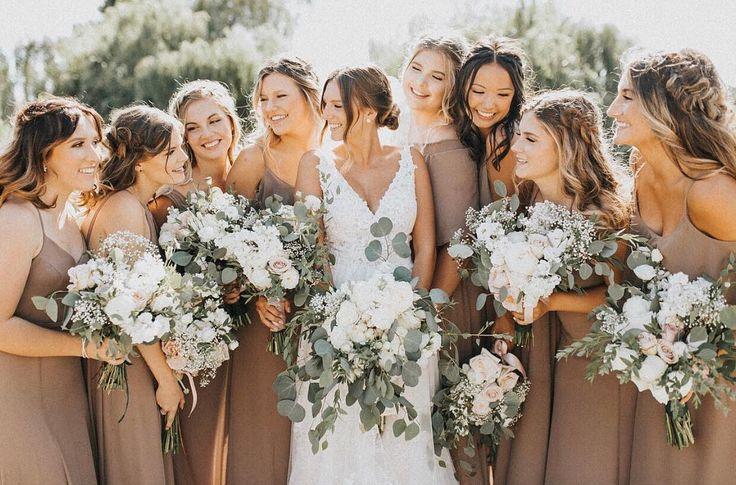 Top 8 Bridesmaid Dresses Color Trends