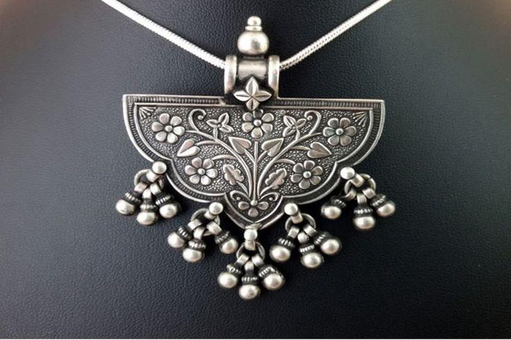 Colgante de plata Rajastán India