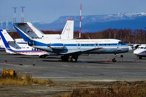 Petropavlovsk-Kamchatka Air Detachment Yak40