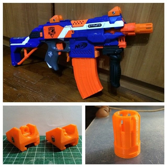 Amazon.com: Nerf Pinpoint Sight Elite Rebelle Strike Mount Mission Kit  Hasbro: Toys & Games