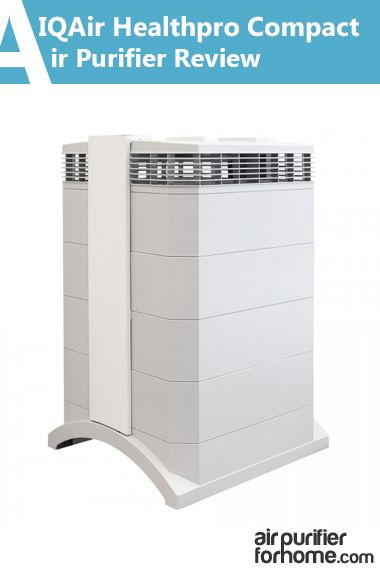 HyperHEPA® Filter H12/13 – IQAir HEPA filter that is 100 times more efficient than average HEPA air filter and able to filter particles down to 0.3 microns - IQAir Healthpro Compact Air Purifier