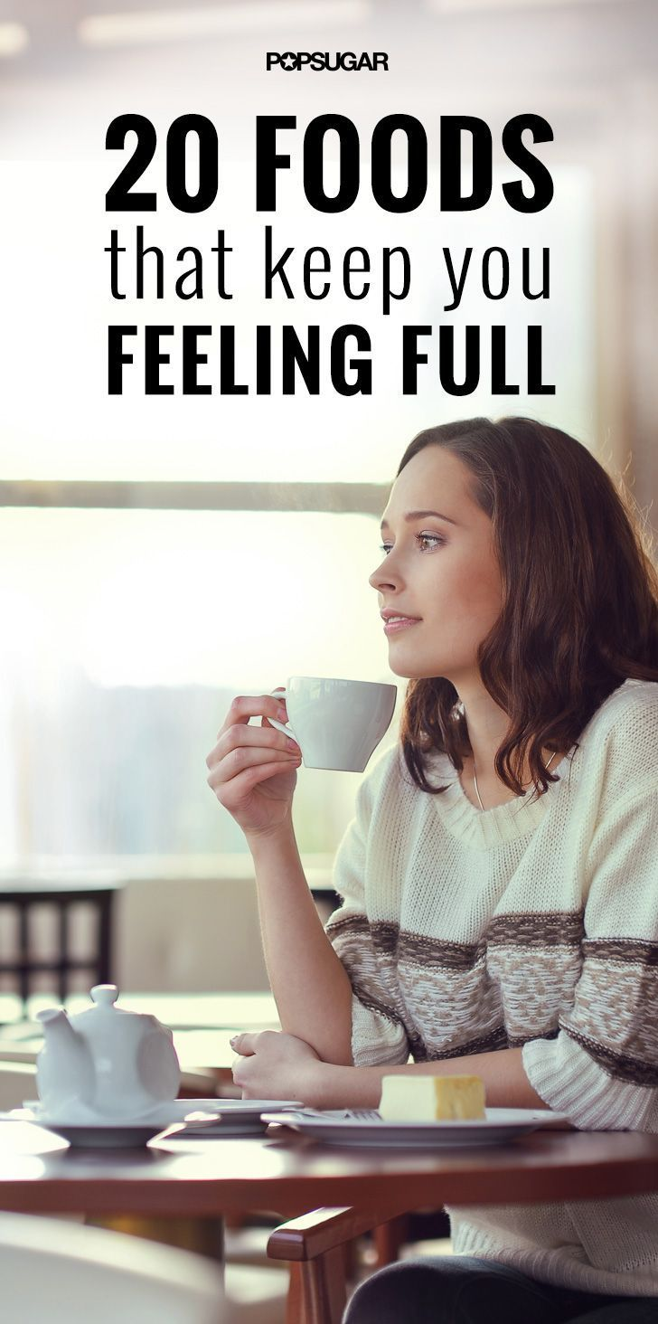 20 appetite-suppressing foods that keep you feeling full!