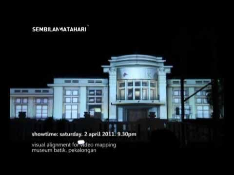 Video Mapping Alignment @museumbatik Pekalongan by @NMworld
