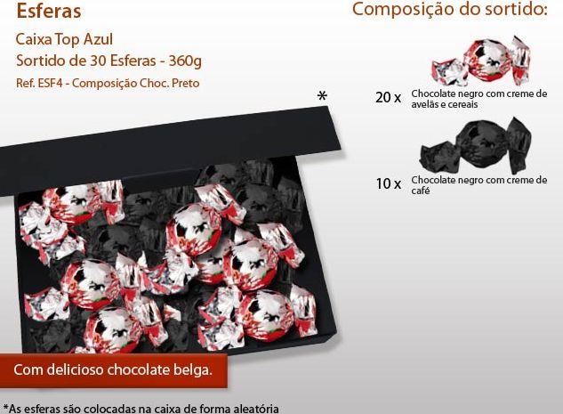 Conozca nuestra variedad de esferas de chocolate ... ¡son una delicia!