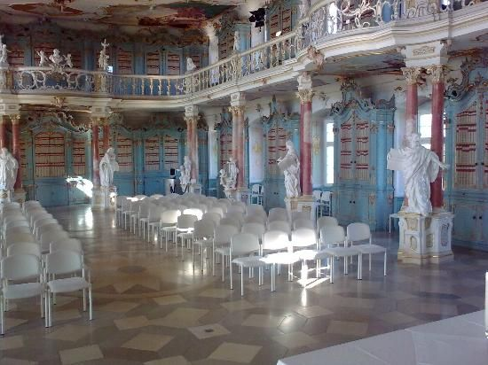 Schussenried Monastery Library (beautiful library) - Bad Schussenried, Germany