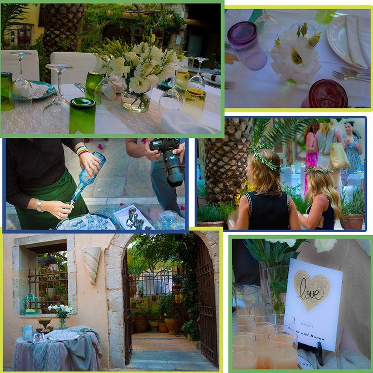Wedding reception _Avli #WeddinginCrete #WeddinginRethymno