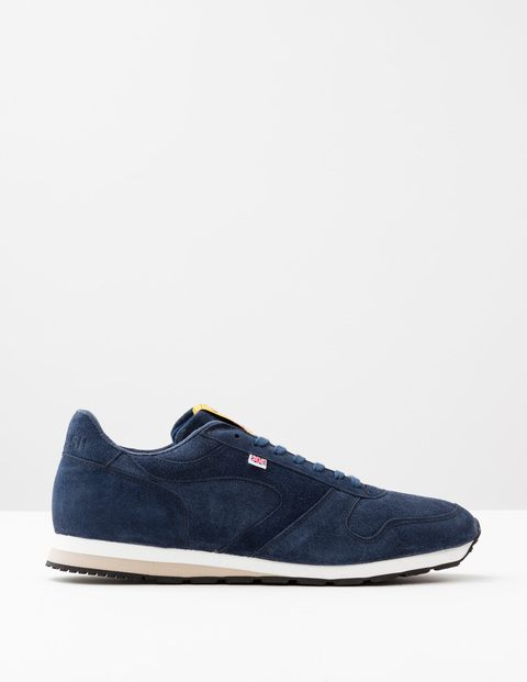 Boden Walsh Seoul 88 Navy Suede Men Boden, Navy Suede Originally developed as a mixed-terrain running shoe for the GB Olympic team in 1988, these trainers are still produced by expert craftsmen in the Walsh factory in Bolton, England. Made from premium m http://www.MightGet.com/april-2017-1/boden-walsh-seoul-88-navy-suede-men-boden-navy-suede.asp