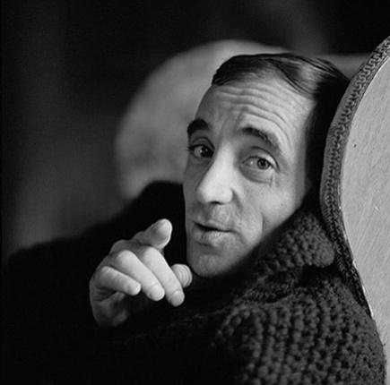 Charles Aznavour by Herman Leonard