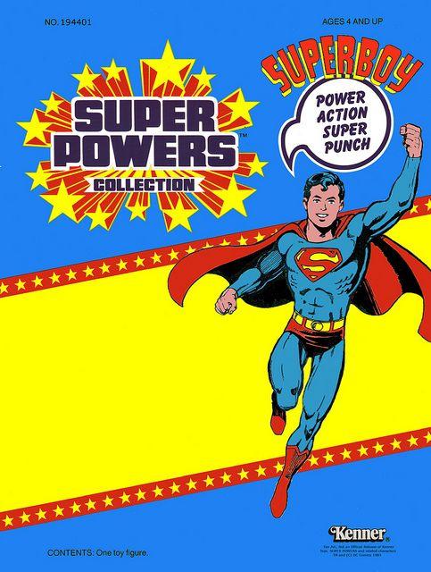 Superboy Custom Super Powers Toys Super Powers Toys