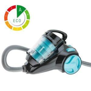 Technologie super silencieuse - Capacité cuve : 2.5L - Filtre HEPA - Brosse 2 positions : sol et moquette