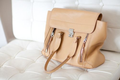 Caramel: Phillip Lim, Lim Pash, White Leather Couch, Color, Fashion Toast, French Lace, Summer Bags, Fashiontoast, Leather Bags