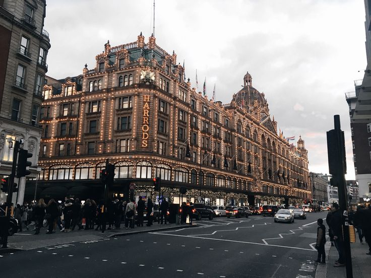 Christmas at Harrods | London