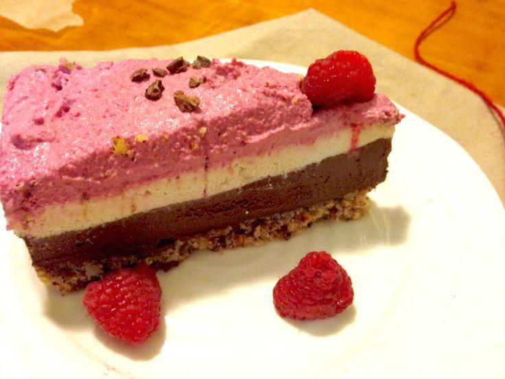 Chocolate Raspberry Layer Cake (gluten-free & vegan)
