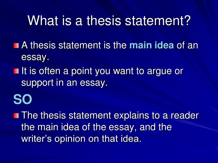 abstract term essays