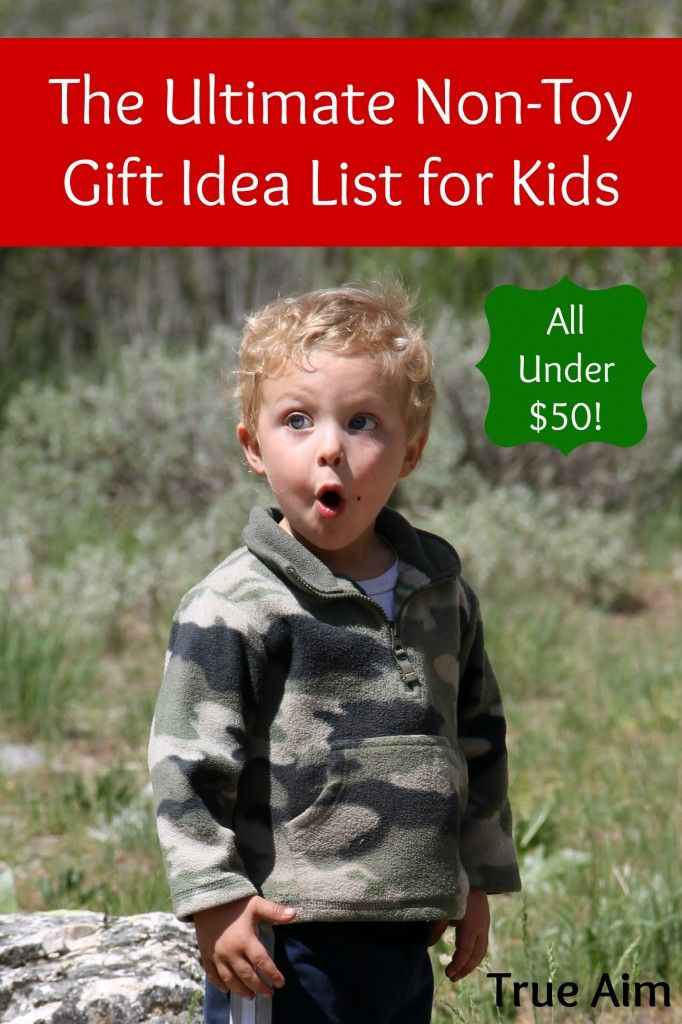 All of these non-toy gift ideas for kids are focused on Christ, education, and/or family.