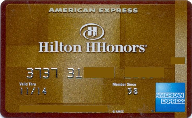 American Express Hilton HHonors (American Express, United States of America) Col:US-AE-0039