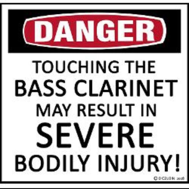I will kill people for touching my bass or contrabass without permission