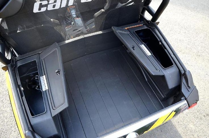 Can Am Commander 2010-2016 Bad Dawg Rear Cargo Storage Box Set #BADDAWGACCESSORIES