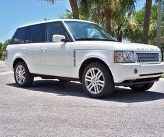 Rang Rover White .. Every One Needs One