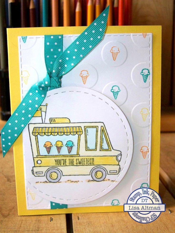 Stampin Up Tasty Trucks http://bluetricyclecrafts.blogspot.com/2017/02/sip86.html