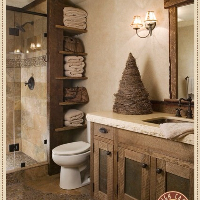 126 best images about lake house bathrooms on pinterest for Lake house bathroom ideas