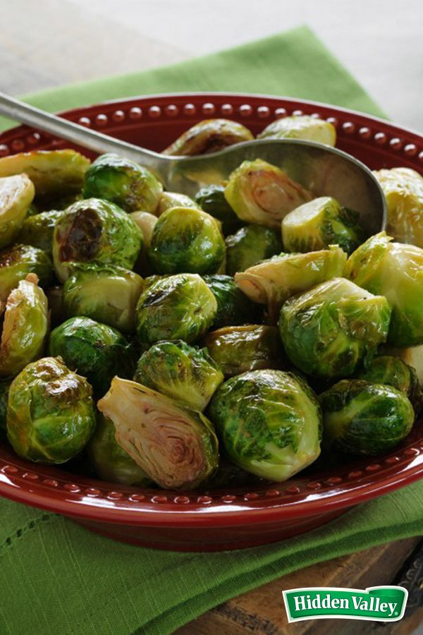 With only three ingredients, this recipe works miracles on Brussels sprouts. Serve these as a Thanksgiving side and you won't be disappointed, unless you were hoping for leftovers!