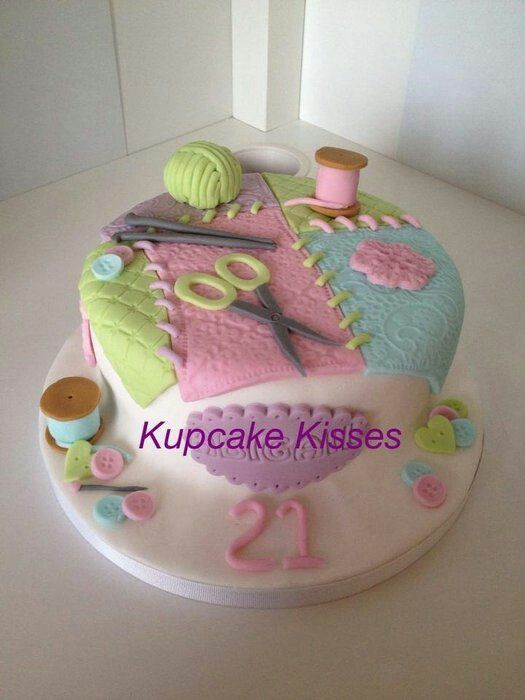 Knitting Needles Nottingham : Best ideas about knitting theme cakes and other edible