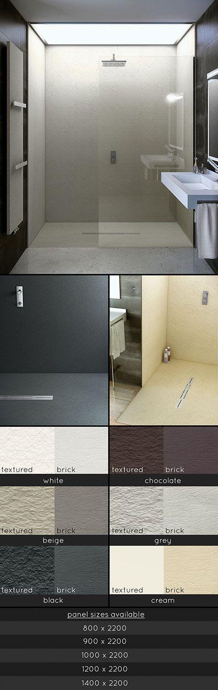 3 Sided Waterproof Shower Wall Panels (71C)