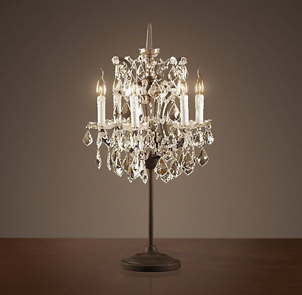 17 Best Ideas About Chandelier Table Lamp On Pinterest