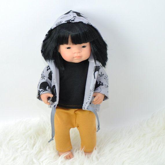Miniland doll sportswear 16 inches doll set  by Przytullale