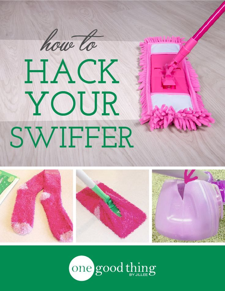 Save money and resources and make your own virtually endless supply of Swiffer refills!