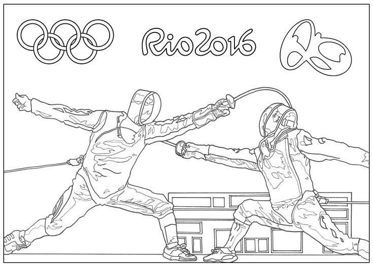 Jeux Olympiques de Rio 2016 : L'EscrimeA partir de la galerie : SportArtiste : Sofian
