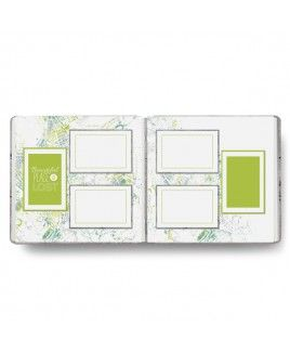 TRAVEL ALBUM with pre-printed pages. complete your album in 1-2 hours! Change in Latitude 12x12 Fast2Fab™ Album