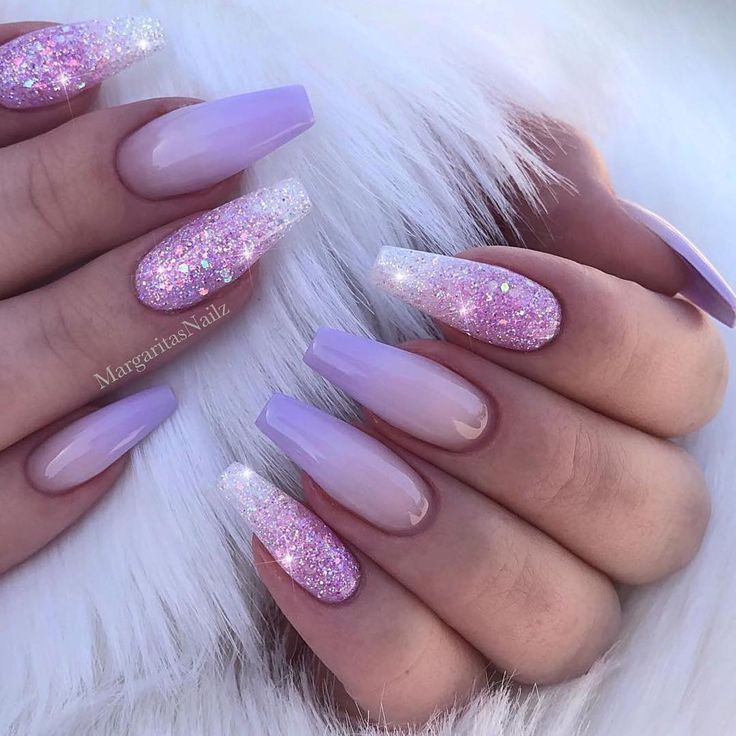 Пин от пользователя Marcellina Ikorishor на доске Nails Сиреневые ногти Белые акриловые ногти