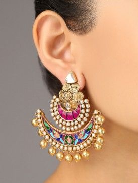 Festive Meenakari Earrings