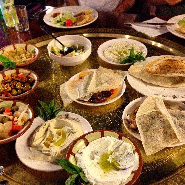 Hogging delicious food at the Tawaheen Al Hawa in #Amman! #GrabYourDream #Jordan #adventure #food #foodphotography