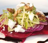Beetroot, Fennel and Goat Cheese Salad