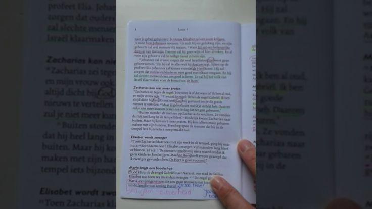 Hoe kun je de Bijbel kleurenkaart gebruiken.