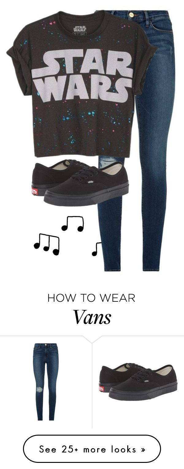 """Untitled #1572"" by anjaleea-fizzy on Polyvore featuring Frame, Vans and ESPRIT"