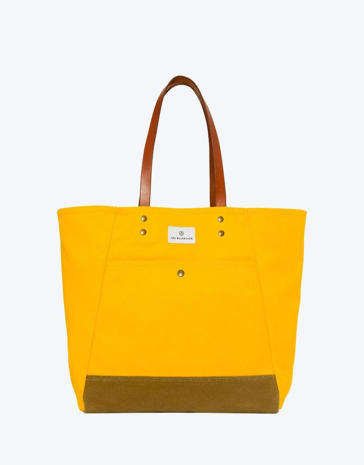 No. 3 - Tote, Yellow