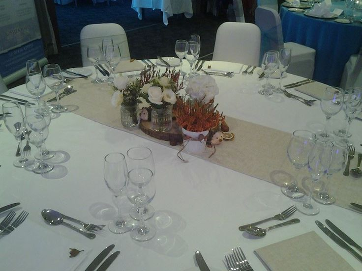 Our Woodland Themed Table At October 2014 Wedding Fayre