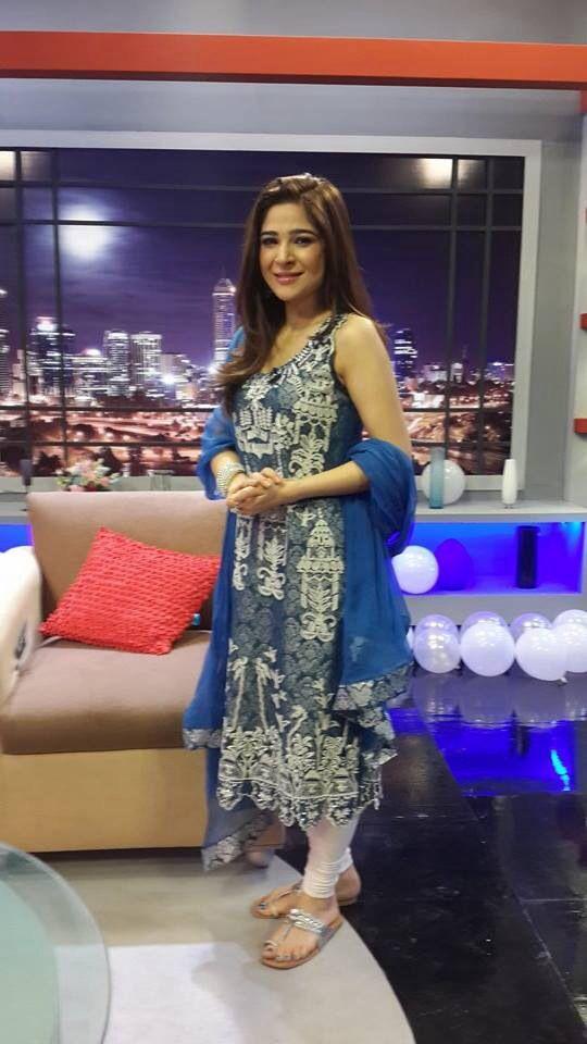 "Pretty Aisha Omar wears Tena Durrani's exquisite 'Floating Temple' ensemble on Express TV's ""Bus Kardo Bus"" Eid Special.   For queries, orders and appointments please email us on info@tenadurrani.com or call us on 0321 232 4600.       #tenadurrani #beauty #style #love #couture #coco #pakistan #pakistana #london #dubai #karachi #fashion #desi"