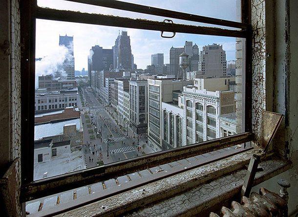 Ruine de Détroit - Photographies artistiques de la ville en déclin