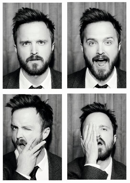 "Yes I admit it, I have a creepy ""Jessie Pinkman"" crush lol!!------Aaron Paul <3"