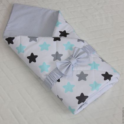 Для новорожденных, ручной работы. Ярмарка Мастеров - ручная работа. Купить Одеяло на выписку для новорожденного. Handmade. Комбинированный, одеяло для новорожденного