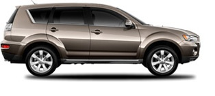 Mitsubishi Outlander - $22,000 for a new 2012 one.  We won't get a new car for another year but I'm already dreaming...