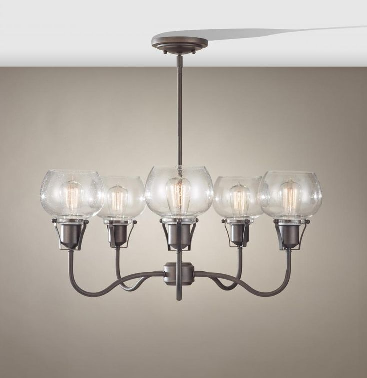 Feiss Has Expanded Their Urban Renewal Collection With This Great 5 Light Rustic Iron Chandelier