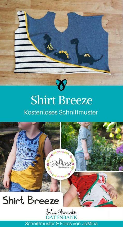 Shirt Breeze – nähen Schnitte